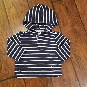 Janie and Jack hooded top